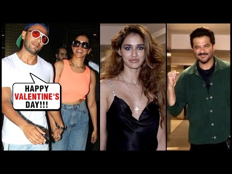 Ranveer Singh WISHES Valentine's Day With Deepika Padukone, Disha Patani, Anil, Aditya SPOTTED!