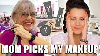 Download MOM PICKS MY MAKEUP ... OMG 🦄 Mp3 and Videos