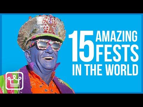 15 Amazing Festivals to Experience Around the World