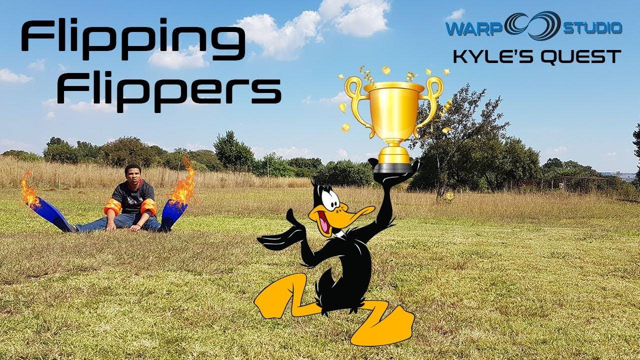 24d6baa62d Kyle s Quest EP24 - Flipper Race - YouTube