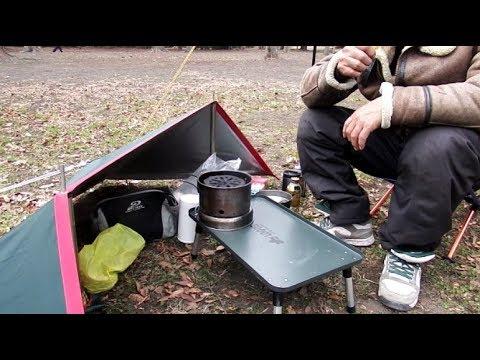快適キャンプ防風風除け作りましたちょいと遊び心入れてみました編アウトドアキャンプバイクツーリング