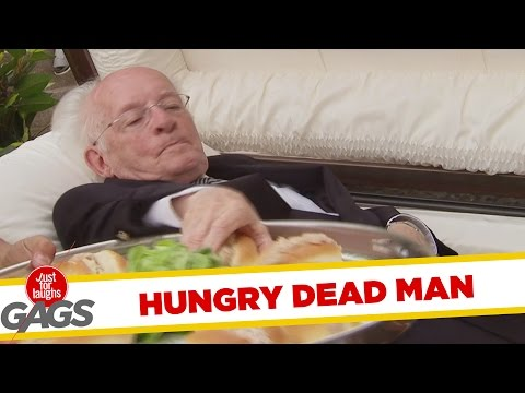 Dead Man Comes Alive for a Bite