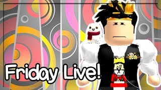 CAN'T BELIEVE THEY DID THIS! ROBLOX FRIDAY LIVE!