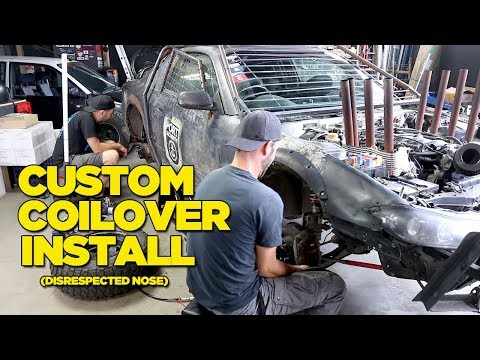 Custom Coilover Install (Disrespected Nose) EMOTIONAL DRAMA