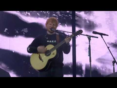 Ed Sheeran – BLOW (first public performance) @ Letiště Letňany, Prague 07/07/19