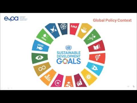 EVPA Webinar: The Sustainable Development Goals & Venture Philanthropy/Social Investment