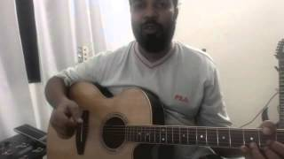 Basic Guitar Strumming Lesson in Sinhala