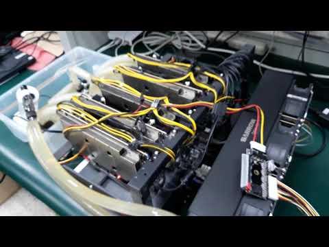 BTU9P Pre-made FPGA Mining Rig