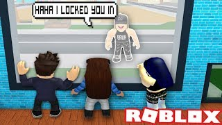 BULLY LOCKS US IN HER HOUSE IN ROBLOX | Robloxian Life | Roblox funny moments