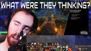 Asmongold Reacts To Upcoming WOW Updates (New story line, heritage armor, islands) (Daily WOW #66)