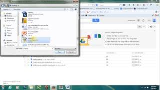 Hướng dẫn sử dụng Google Drive để upload các file js, css