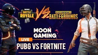 [LIVE] 🔴 PUBG VS FORTNITE, TU CE PREFERI SI DE CE? | HAI CU FOLLOW PE INSTAGRAM @MOONSOUNDRO