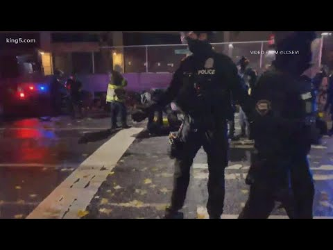 Woman injured, several arrests made following Seattle protests