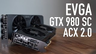 evga geforce gtx 980 superclocked acx 2 0 review benchmarks
