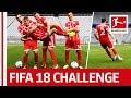 Müller, Hummels & Co. - FIFA 18 Bundesliga Free Kick Challenge - FC Bayern München