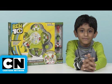 Ben 10   Alien Creation Chamber Review   Cartoon Network thumbnail