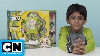 Ben 10 | Alien Creation Chamber Review | Cartoon Network