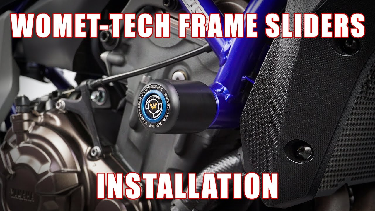 How To Install Frame Sliders On Yamaha R