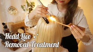 ASMR Sleepy Lice Removal Treatment For You👱�♀� gent...