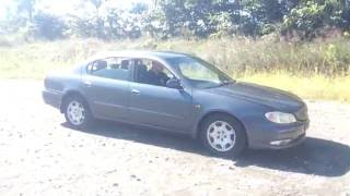 Видео-тест автомобиля Nissan Cefiro (A33-057032 99г)