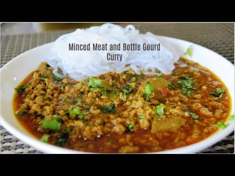 mince-meat-&-bottle-gourd-curry-|-chicken-curry-|-keto-recipes-|-low-carb-recipes-|-lchf