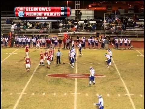 Elgin High School Football: Elgin vs. Piedmont