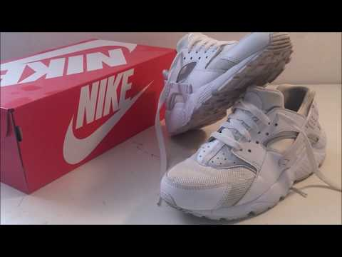 NIKE huarache run GS UNBOXING FULL HD