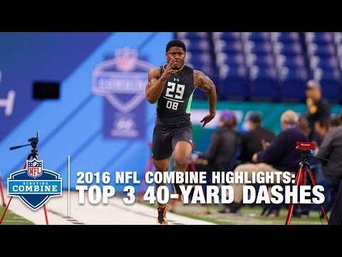 Top 3 Fastest DB 40-Yard Dashes | 2016 NFL Combine Highlights