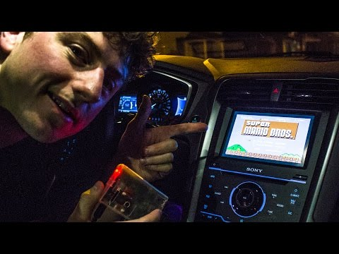 Raspberry Pi Installed In The Ford Fusion