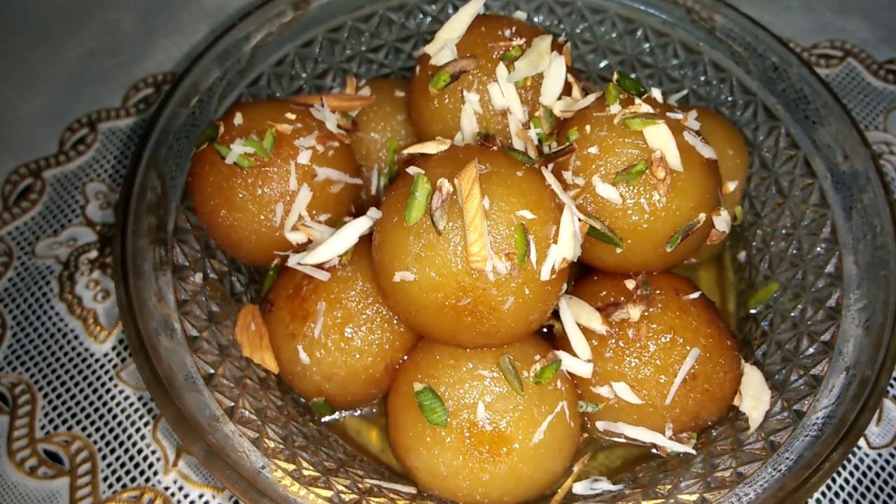 Bread Gulab Jamun/ब्रेड के गुलाब जामुन रेसिपी by Punjabi Cooking