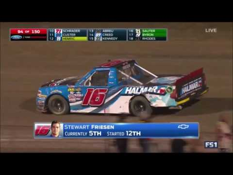 Stewart Friesen spotlight on FS1 from Eldora