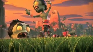 Plants Vs Zombies 2 World Animation Trailer Part 2 Kung Fu