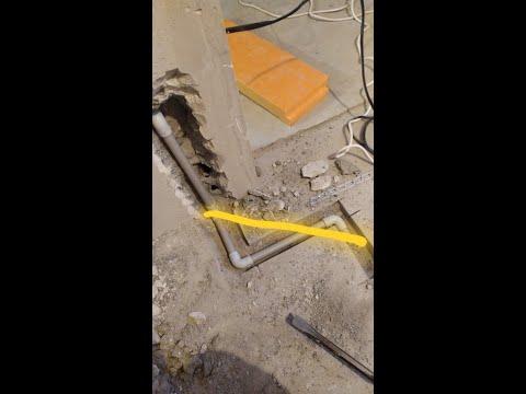 Прокладка термодатчика для электрического теплого пола