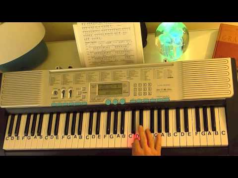 How to Play ~ She Will Be Loved ~ Maroon 5 ~ LetterNotePlayer ©