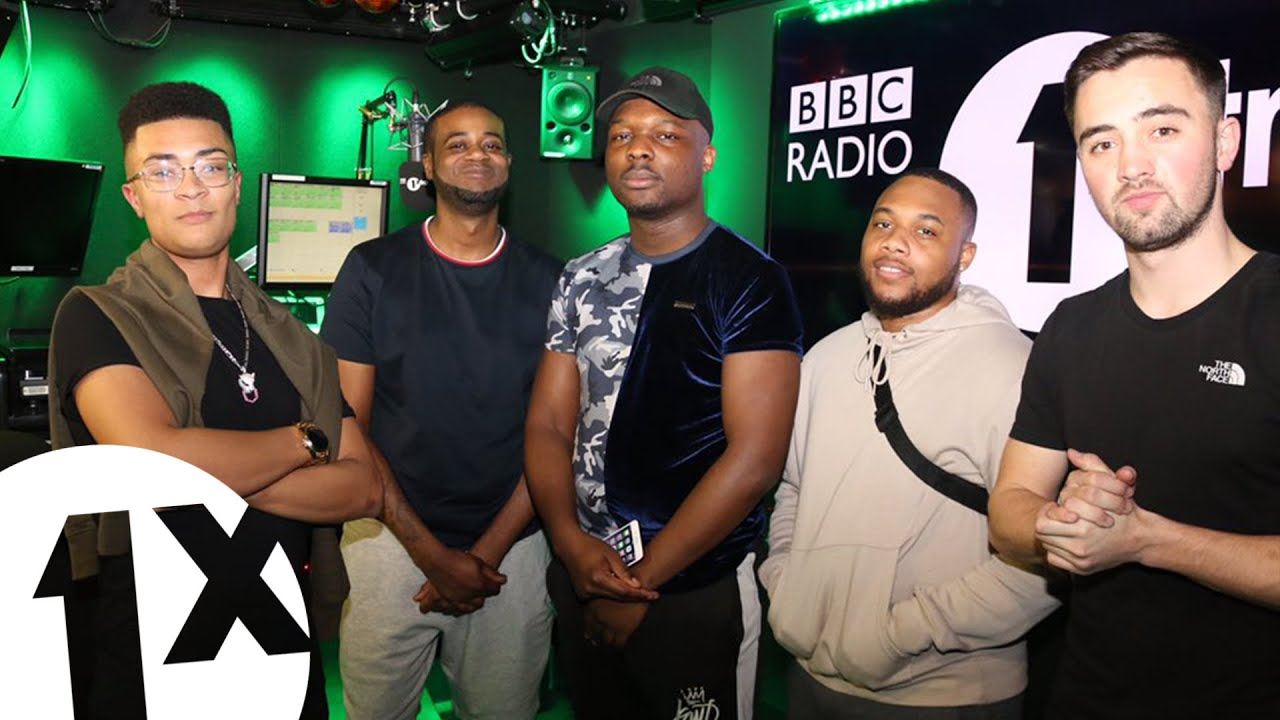 Namesbliss, Melvillous, Jafro and Collistar set with Sir Spyro on 1Xtra