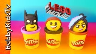 The LEGO Movie PLAY-DOH Emmet and Batman Surprise Toy Eggs thumbnail