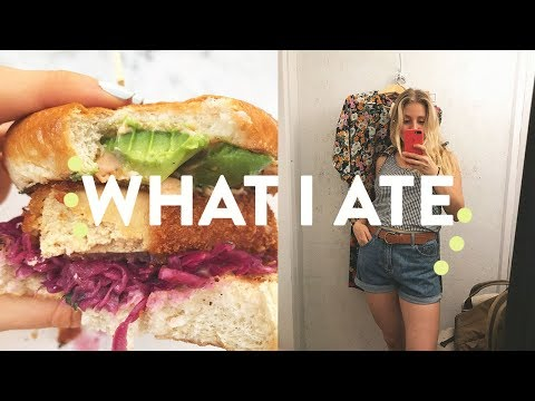 WHAT I EAT IN A DAY | MONTREAL