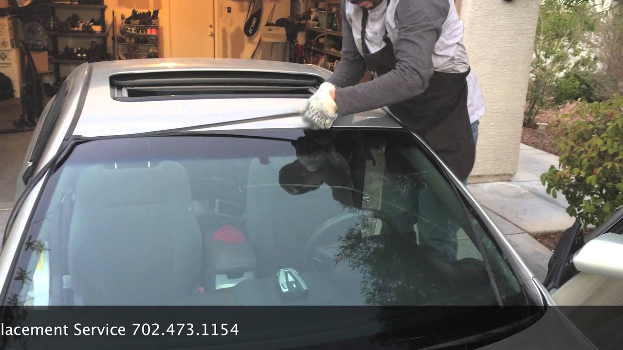 2007 Toyota Solara Windshield Replacement In Las Vegas