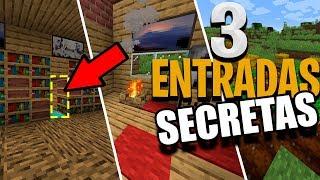 Gambar cover 3 Entradas Secretas SIMPLES Minecraft 1.14