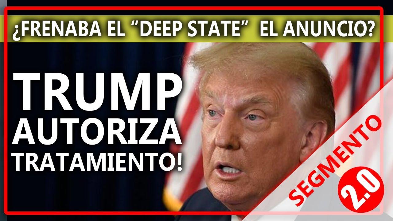 TRUMP ANUNCIA TRATAMIENTO CONTRA EL VIRUS CHINO!!!