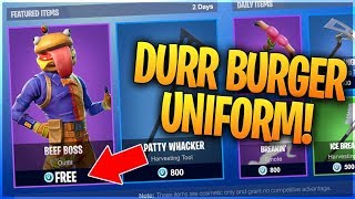 "NEW How To Get ""BEEF BOSS"" Skin for FREE! - Secret Twitch Prime Pack 3 Skin (ALL Fortnite Leaks 5.2)"