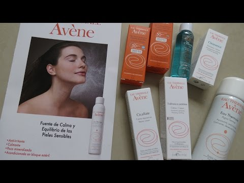 Top 5 Productos Favoritos de Avene / Carla Calvo