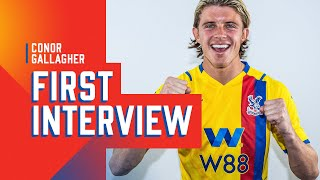 Conor Gallagher's first interview after signing for Palace