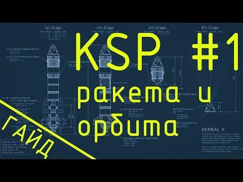 Гайд по KSP [как строить ракету][как выйти на орбиту]
