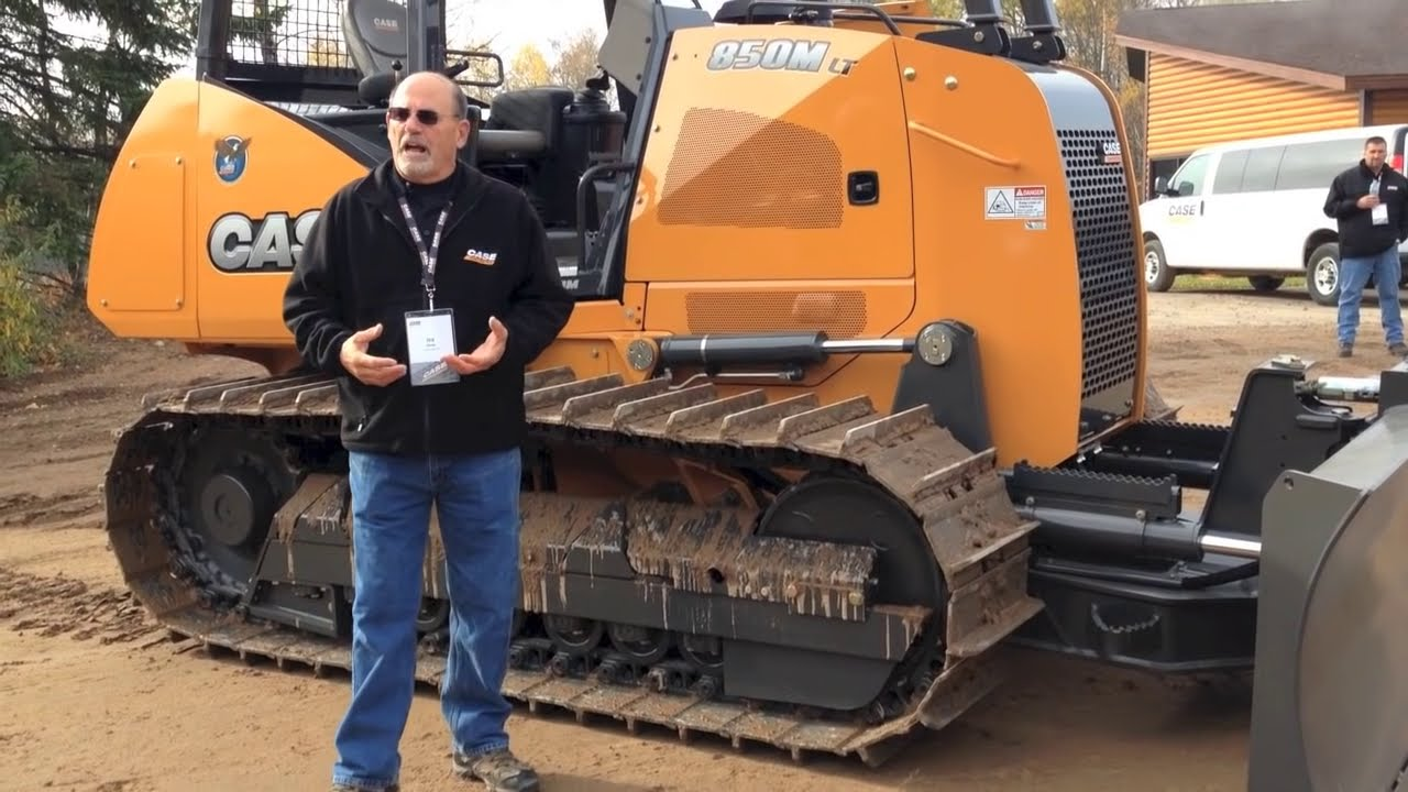 First Look: Case 2050m And 850m Crawler Dozers  Equipmentworld 02:58 HD