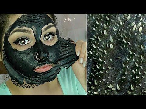 Easy DIY Blackhead Remover Peel Off Mask REMOVES EVERYTHING   BeautyByJosieK