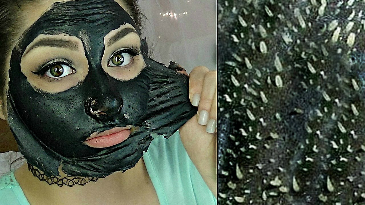 Easy DIY Blackhead Remover Peel Off Mask REMOVES EVERYTHING | BeautyByJosieK - YouTube