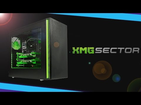 XMG Sector - Produkt-Interview zum Mega-PC!