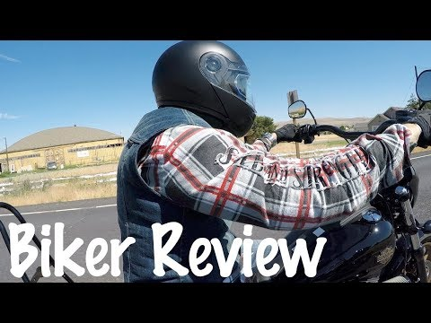 Speed and Strength Rust And Redemption Armored Moto Shirt Review-Biker