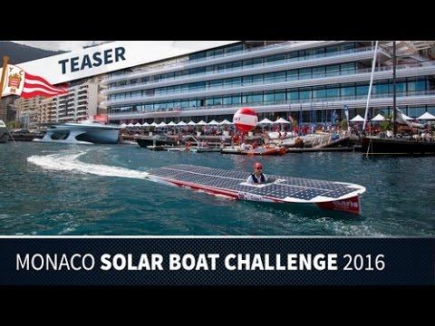 Monaco Solar Boat Challenge 2016